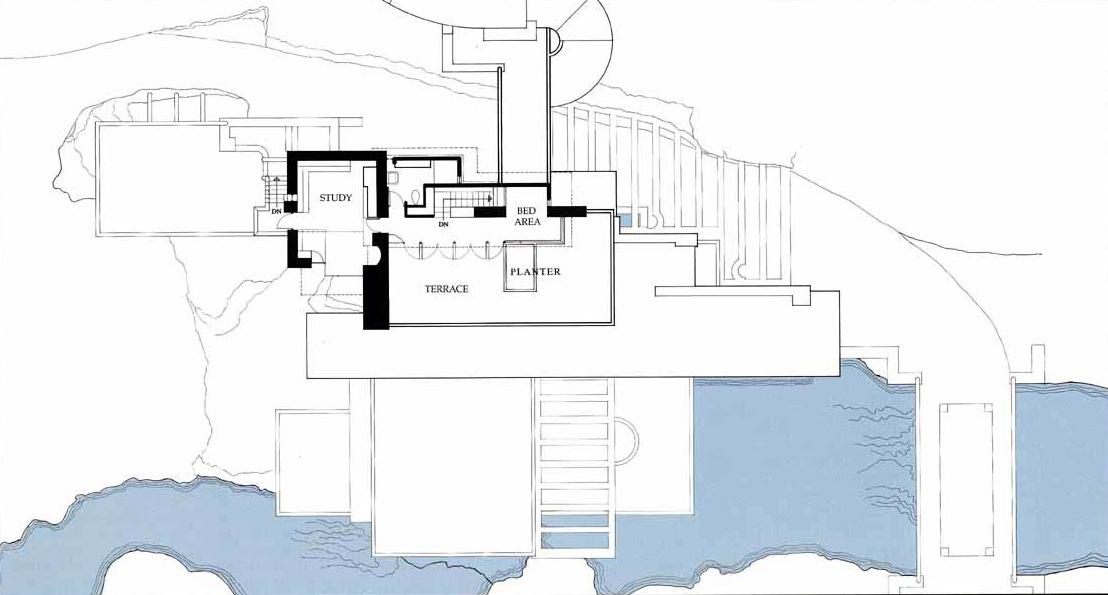 Archidiap fallingwater house for Architettura wright