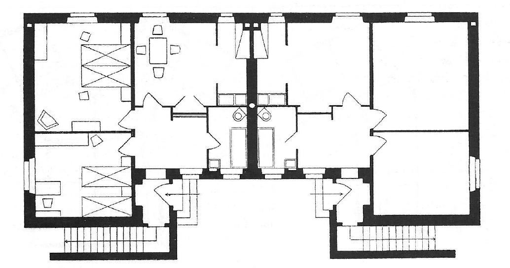 Archidiap case modello icp lotto 24 alla garbatella for Planimetrie popolari