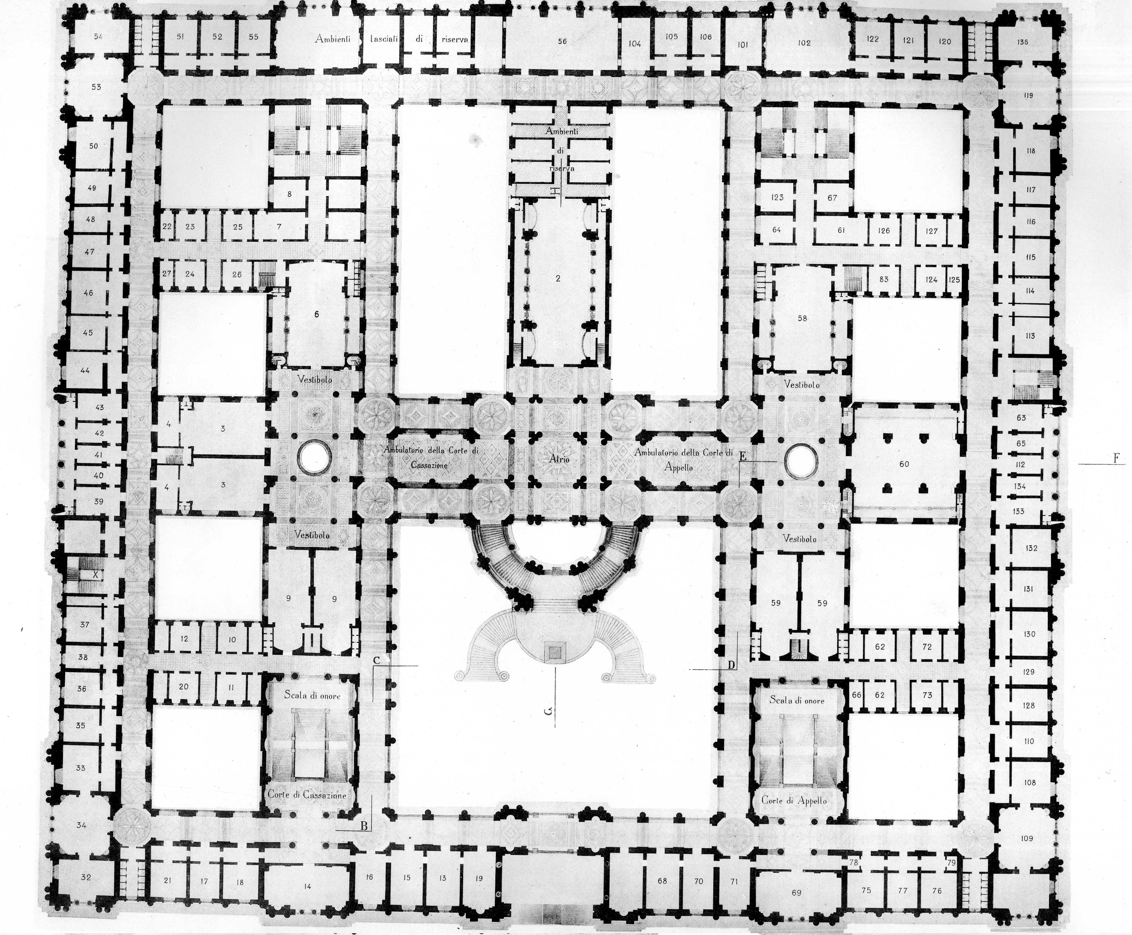 La terza roma gli edifici istituzionali skyscrapercity for Progettista del piano interrato