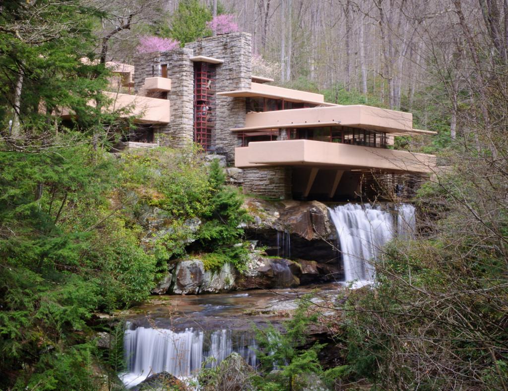 Archidiap fallingwater house for Wright la casa sulla cascata