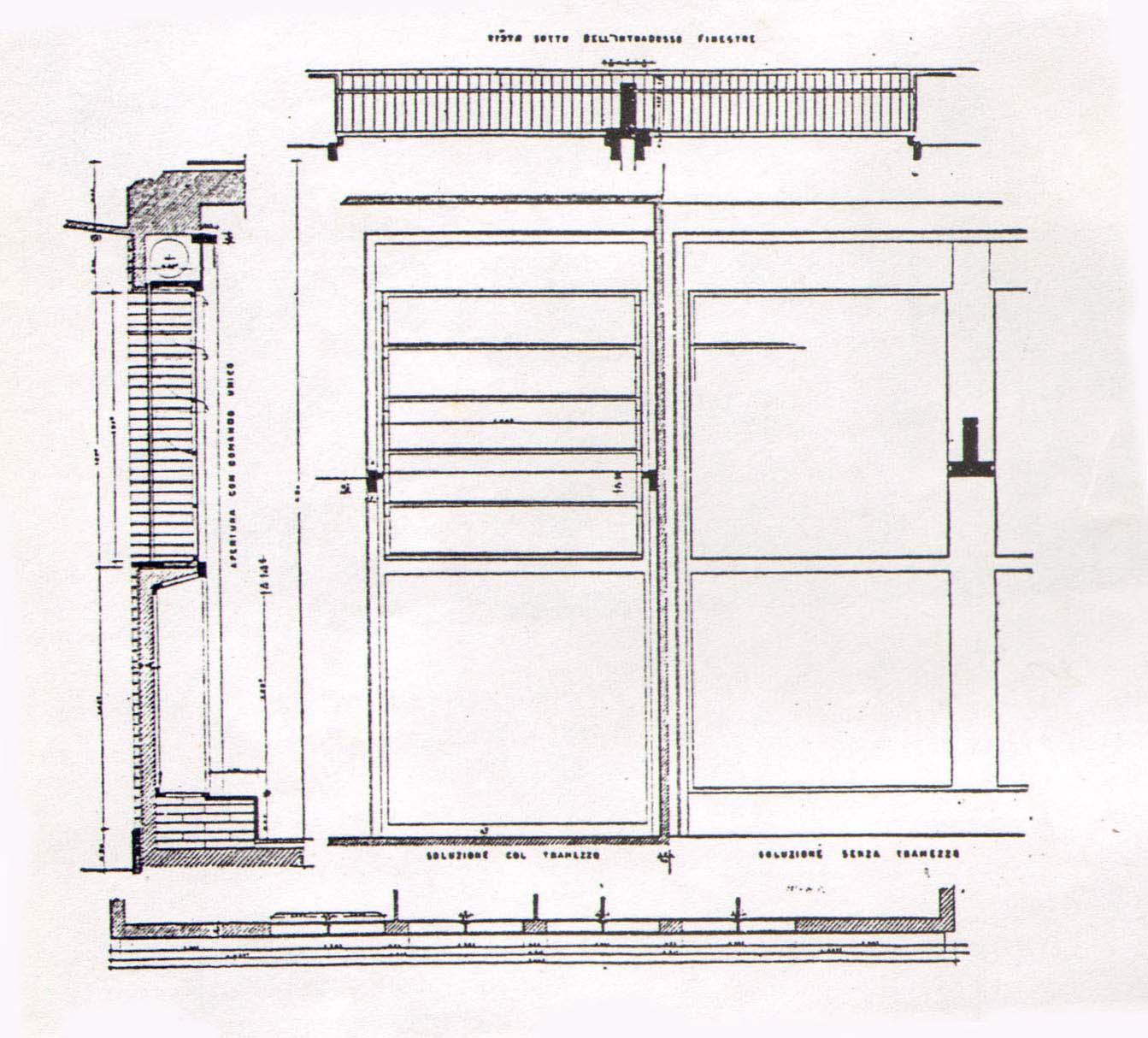 Archidiap palazzina bornigia for Piano del telaio della finestra