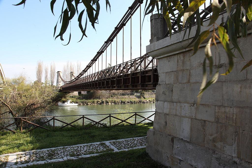 Archidiap ponte real ferdinando sul fiume garigliano for Disegni di ponte anteriore