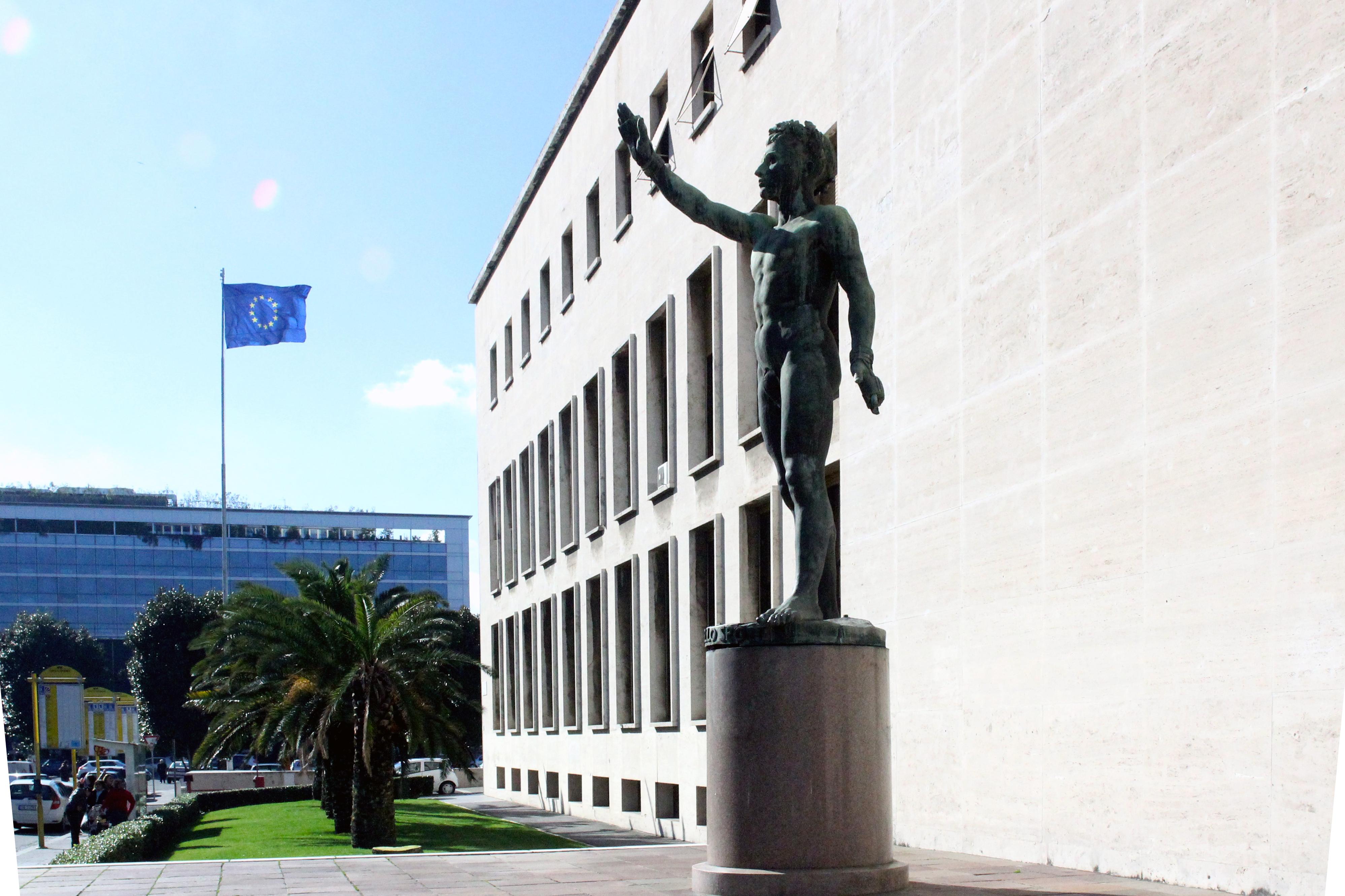 Palazzo uffici dell ente eur 42 archidiap for Uffici roma eur
