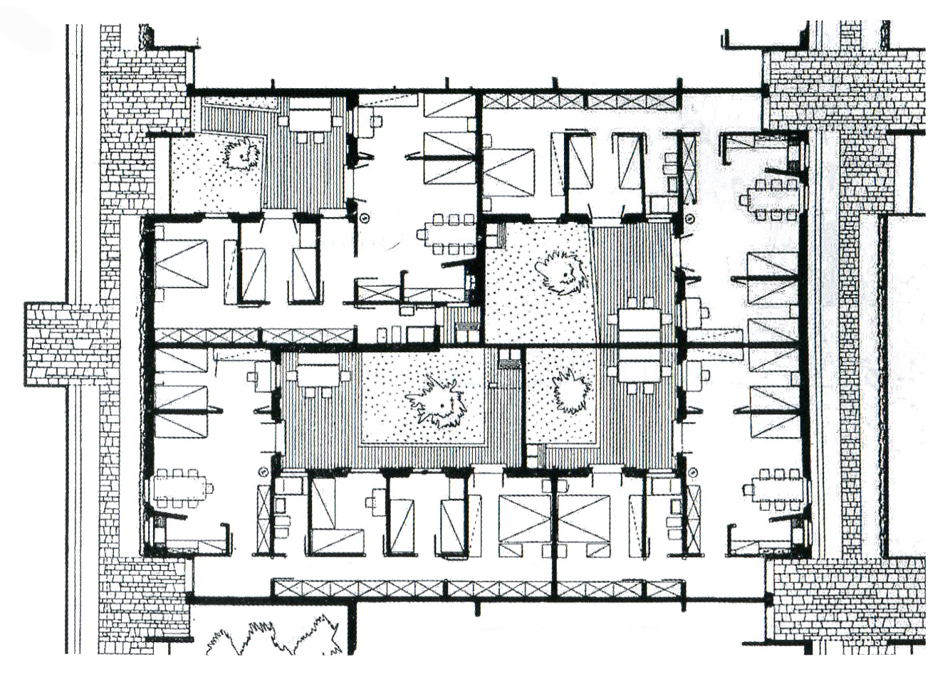 Archidiap unit di abitazione orizzontale for Planimetrie della casa texas