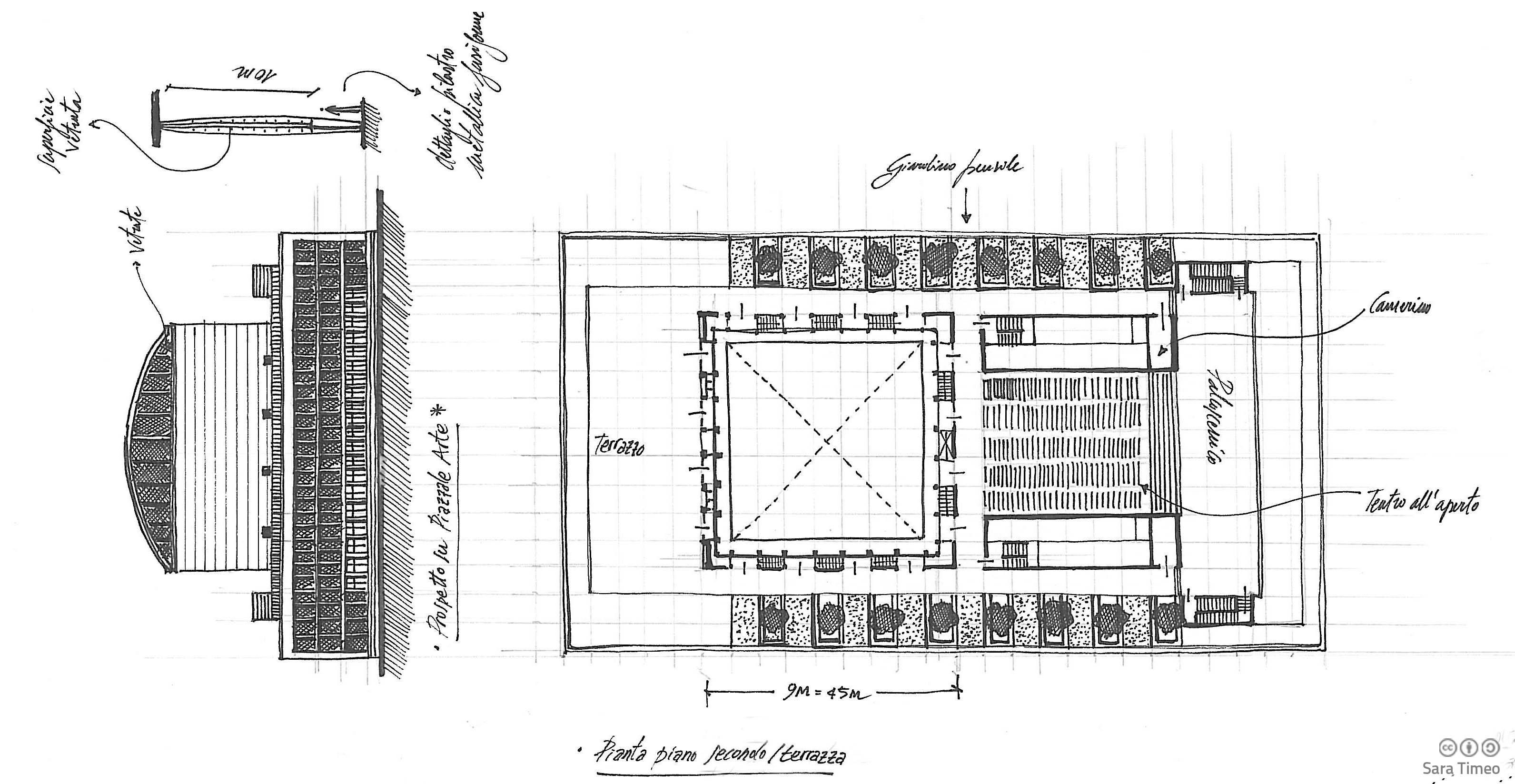 Archidiap palazzo dei congressi for Disegni del mazzo del secondo piano