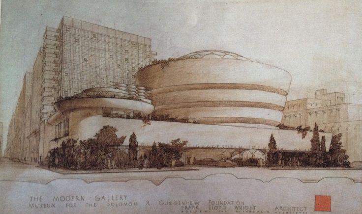 Archidiap guggenheim museum for Architettura wright