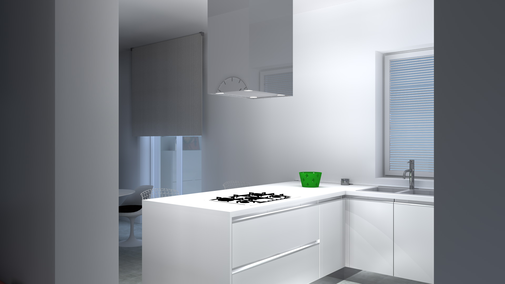 Awesome altezza piastrelle cucina images embercreative - Altezza piastrelle bagno ...