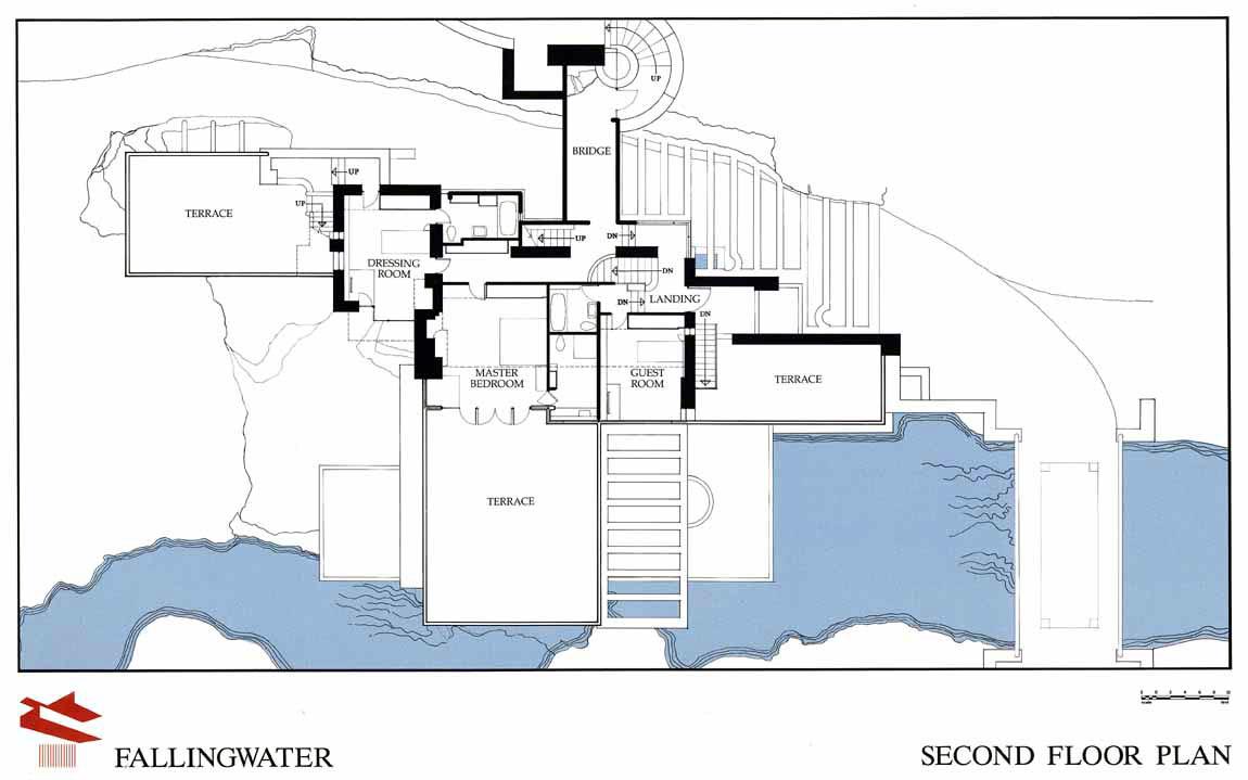 Planimetria Casa Con Misure archidiap » fallingwater house