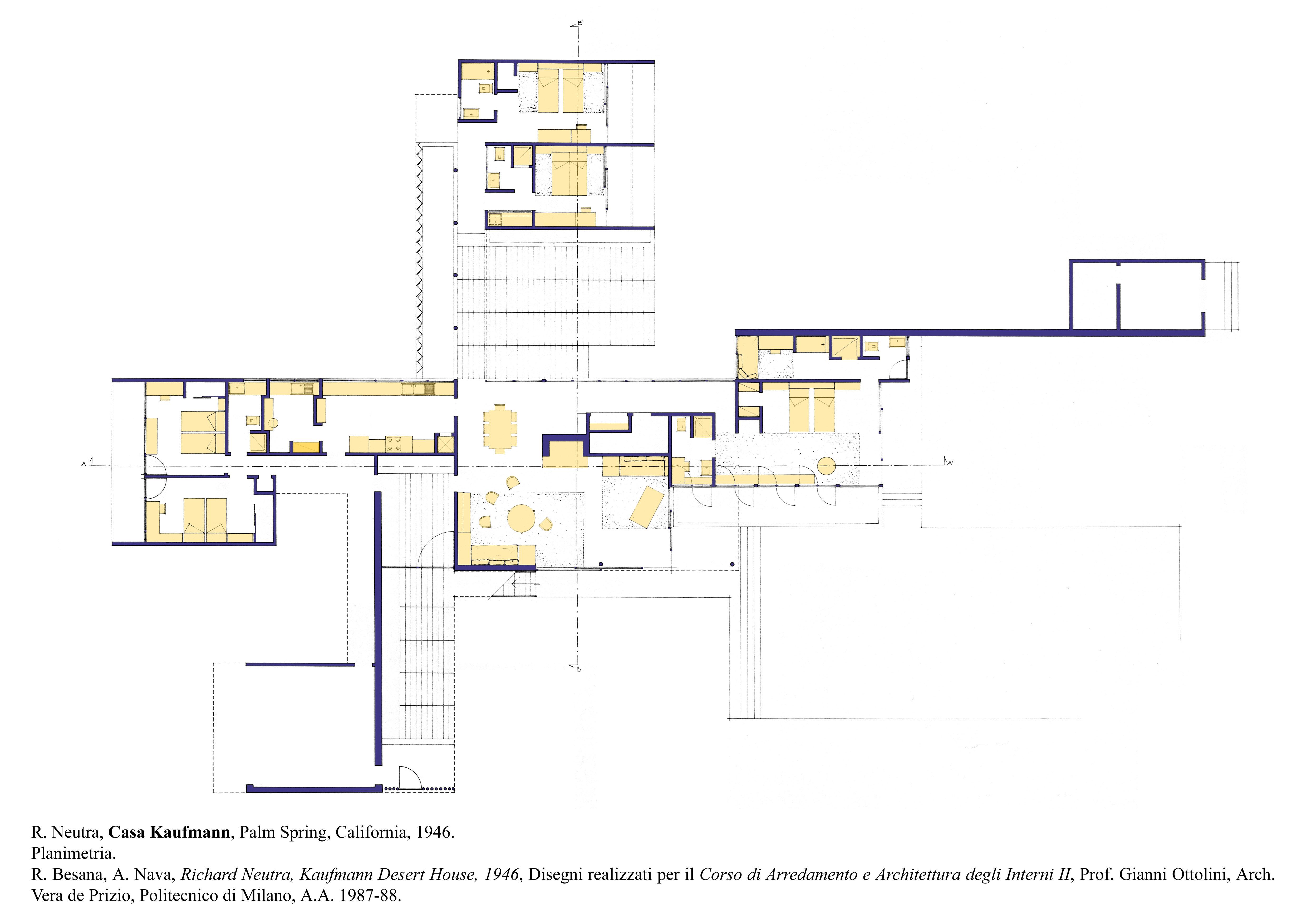 Planimetria Casa Con Misure archidiap » casa kaufmann